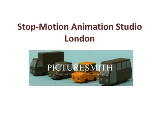 Stop-Motion Animation Studio London