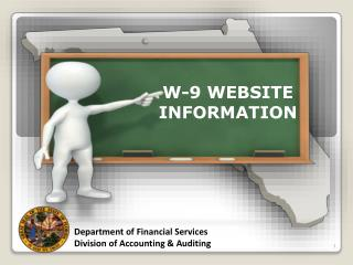 W-9 WEBSITE INFORMATION