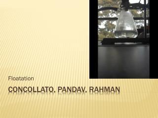 Concollato,  Pandav ,  Rahman