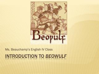 Introduction to  Beowulf