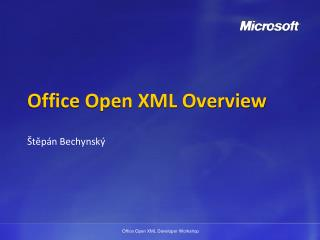 Office Open XML  Overview