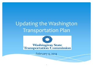 Updating the Washington Transportation Plan