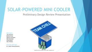 SOLAR-POWERED MINI COOLER