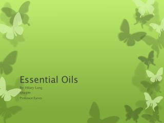 Essential Oils