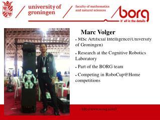 MSc  Artificial  Intelligence(University  of Groningen)
