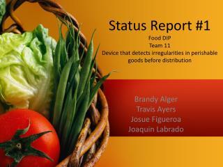 Brandy Alger Travis Ayers Josue  Figueroa Joaquin  Labrado