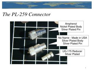 The PL-259 Connector
