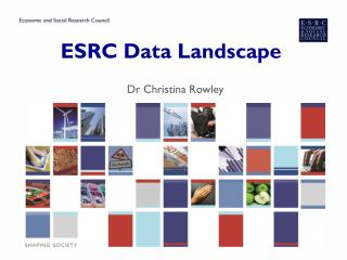 ESRC Data Landscape