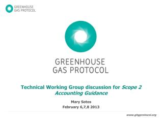 Technical Working Group discussion for  Scope 2 Accounting Guidance