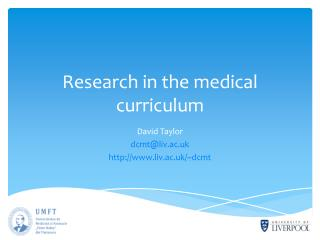 Research in the medical curriculum