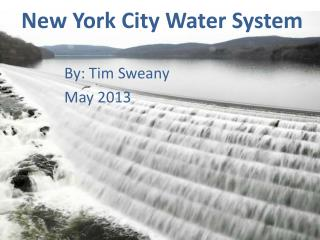 New York City Water System