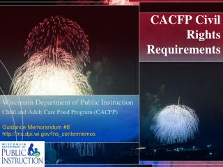 CACFP Civil Rights  Requirements