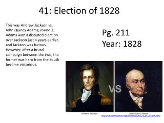 41: Election of 1828