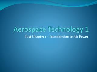 Aerospace Technology 1
