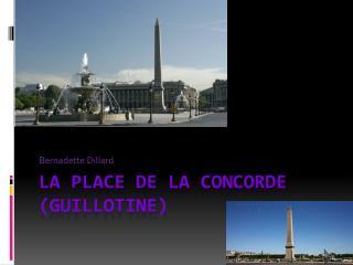 La Place de la Concorde (Guillotine)