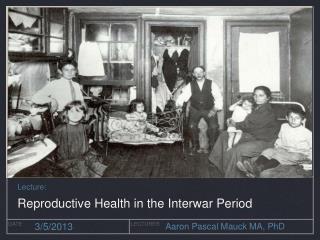 Internationalism and Health