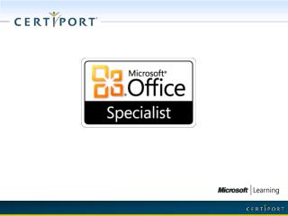 Microsoft Office  Specialist  (MOS) 2003
