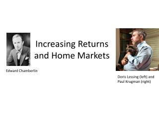 Increasing Returns and Home Markets