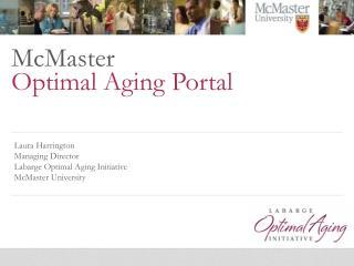 McMaster Optimal Aging Portal