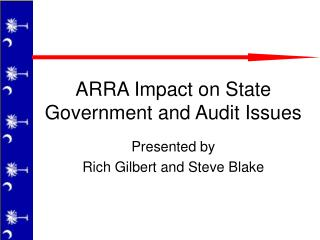 ARRA Impact on State Government and Audit Issues