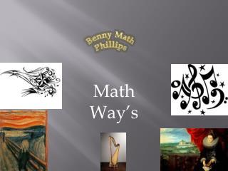 Math Way's