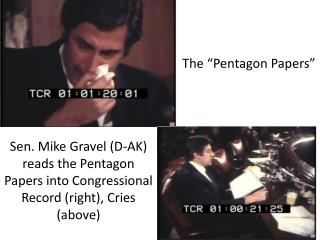 """The """"Pentagon Papers"""""""