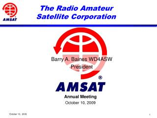 The Radio Amateur Satellite Corporation