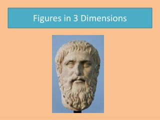 Figures in 3 Dimensions