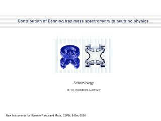 Contribution of Penning trap mass spectrometry to neutrino physics