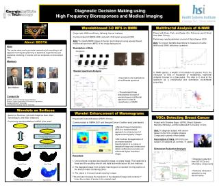 Diagnostic Decision Making using  High Frequency  Bioresponses  and Medical Imaging