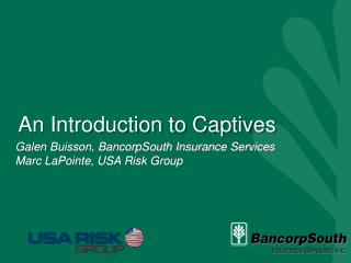 An Introduction to Captives