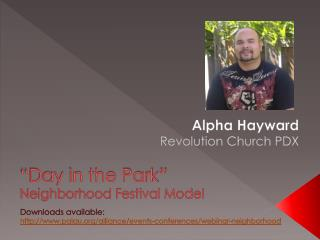 Alpha Hayward Revolution Church PDX