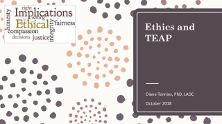 Chapter 2:  Ethics, Laws  Regulations AND the Plan, the Process  the Profession