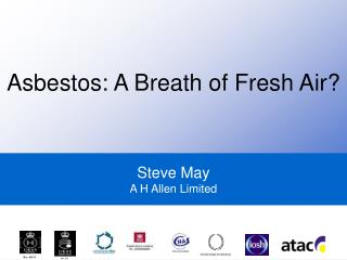 Steve May A H Allen Limited