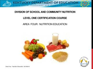 Importance of  Nutrition Education
