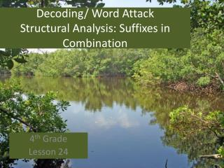 Decoding/ Word Attack Structural Analysis: Suffixes in Combination