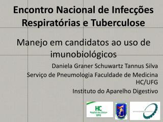 Encontro Nacional de Infecções Respiratórias e Tuberculose
