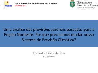 Eduardo  Sávio  Martins FUNCEME