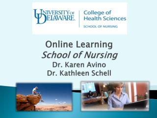 Online Learning School of Nursing Dr. Karen  Avino Dr. Kathleen Schell