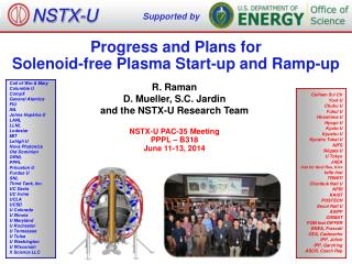 Progress and Plans for  Solenoid-free  Plasma Start -up and Ramp-up