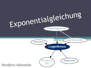 Exponentialgleichung
