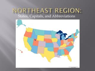 Northeast region: