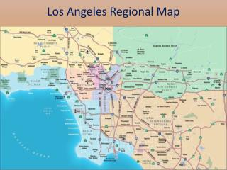 Los Angeles Regional Map