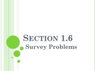 Section 1.6