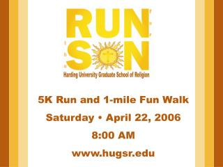 5K Run and 1-mile Fun Walk