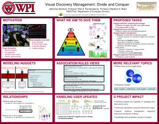 Visual Discovery Management: Divide and Conquer