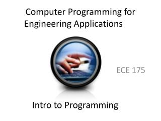 Computer Programming for Engineering Applications