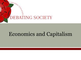 Economics and Capitalism