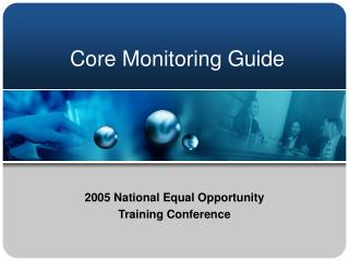 Core Monitoring Guide