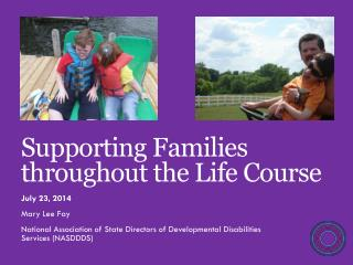 Supporting Families  throughout the Life Course